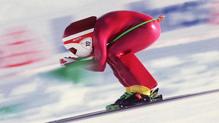vitesse à skis, record