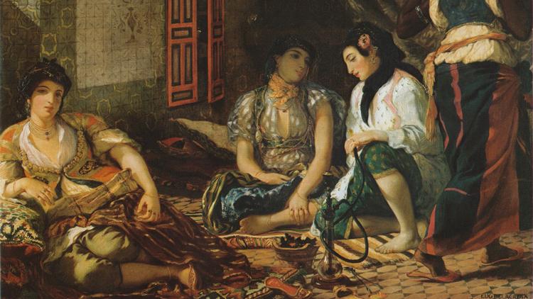 Le Tableau Femmes D Alger Dans Leur Appartement De Delacroix En Details Ca M Interesse