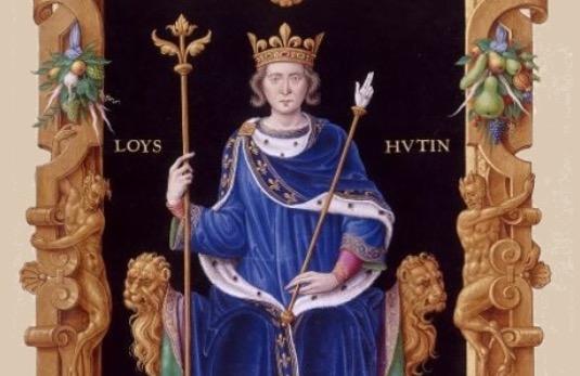 D'où vient le surnom le Hutin pour Louis X ? - Ça m'intéresse