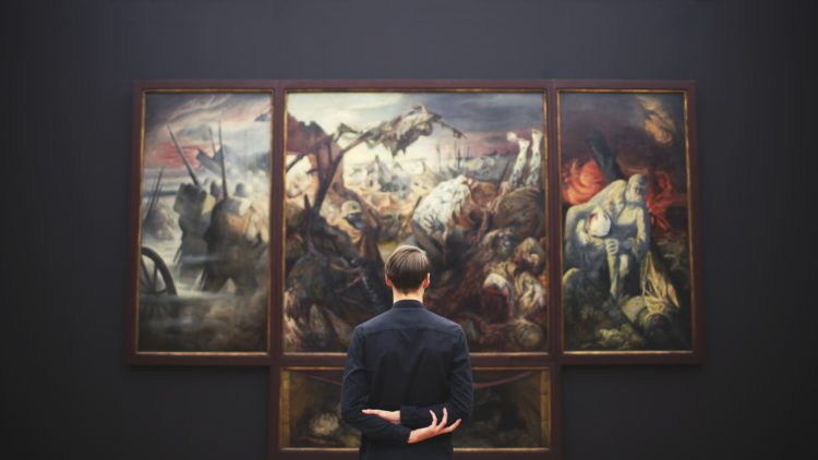musée, art, exposition